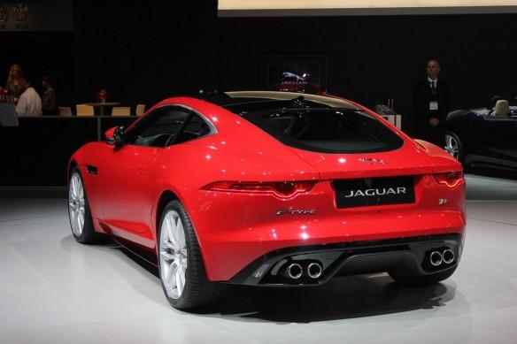Jaguar-F-Type-R-Coupe-at-LA-Auto-Show-rear-three-quarters