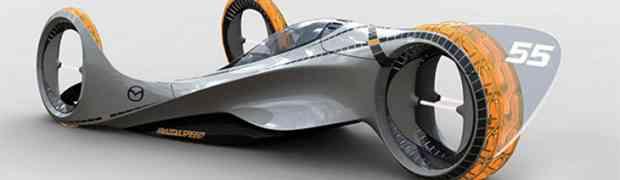 El coche de carreras del futuro